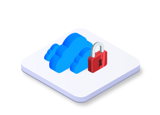 Secured Cloud icon