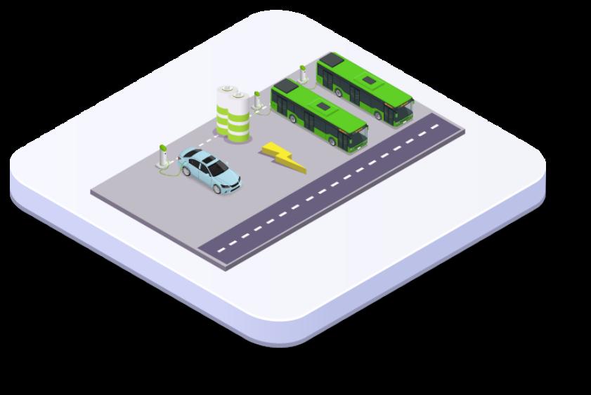 EV Smart Fleet Management icon
